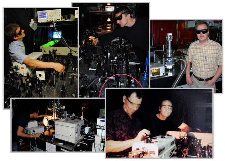 Spectroscopy Facilities Photo Collage